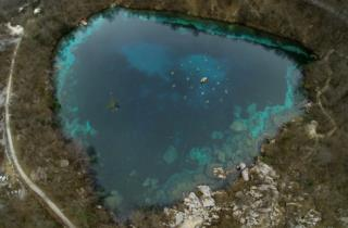 The lake of Cornino has the shape of a heart_picture of Fabio Iardino